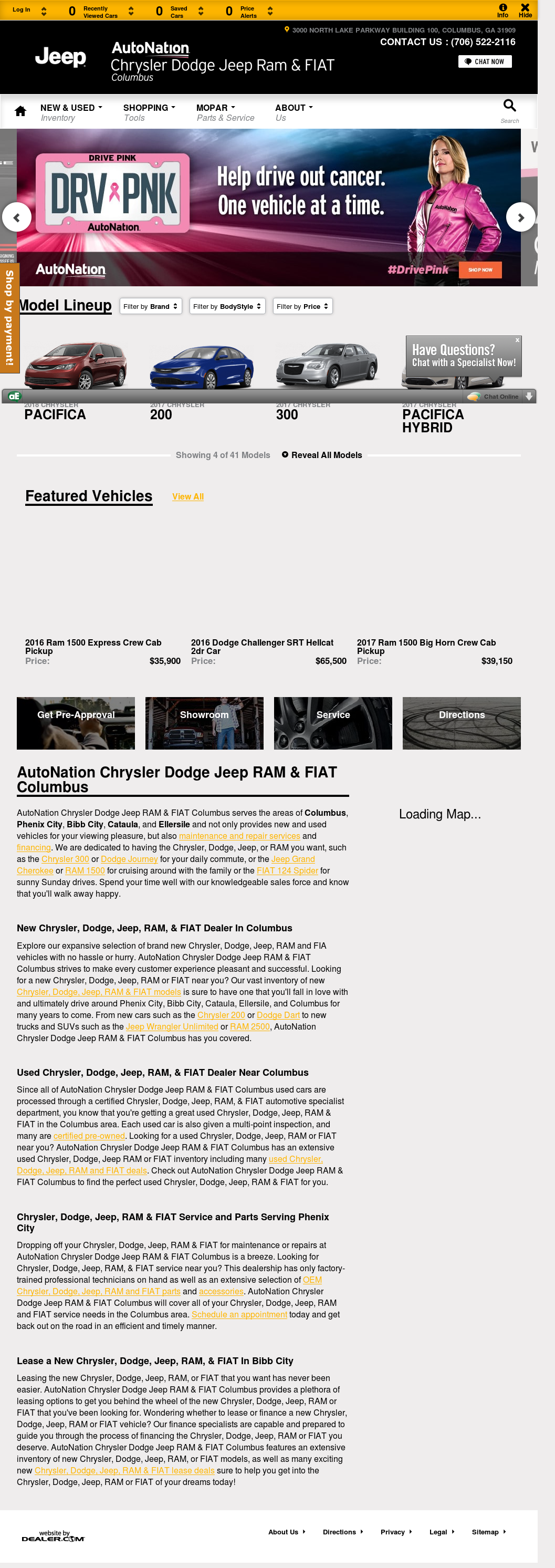 Attractive Carl Gregory Dodge Chrysler Website History