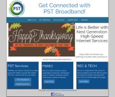 PST website history