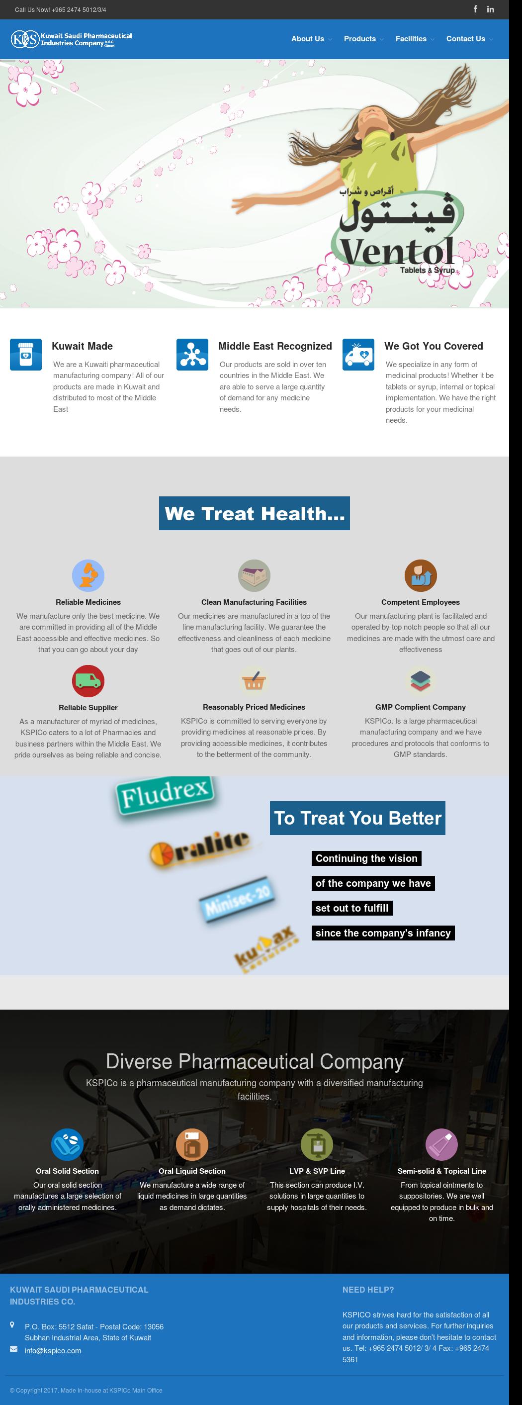 Kuwait Saudi Pharmaceuticals Industries Competitors, Revenue and