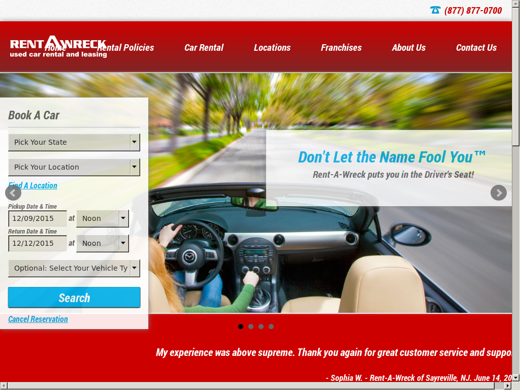 Rent A Wreck Nj >> Rent A Wreck Competitors Revenue And Employees Owler