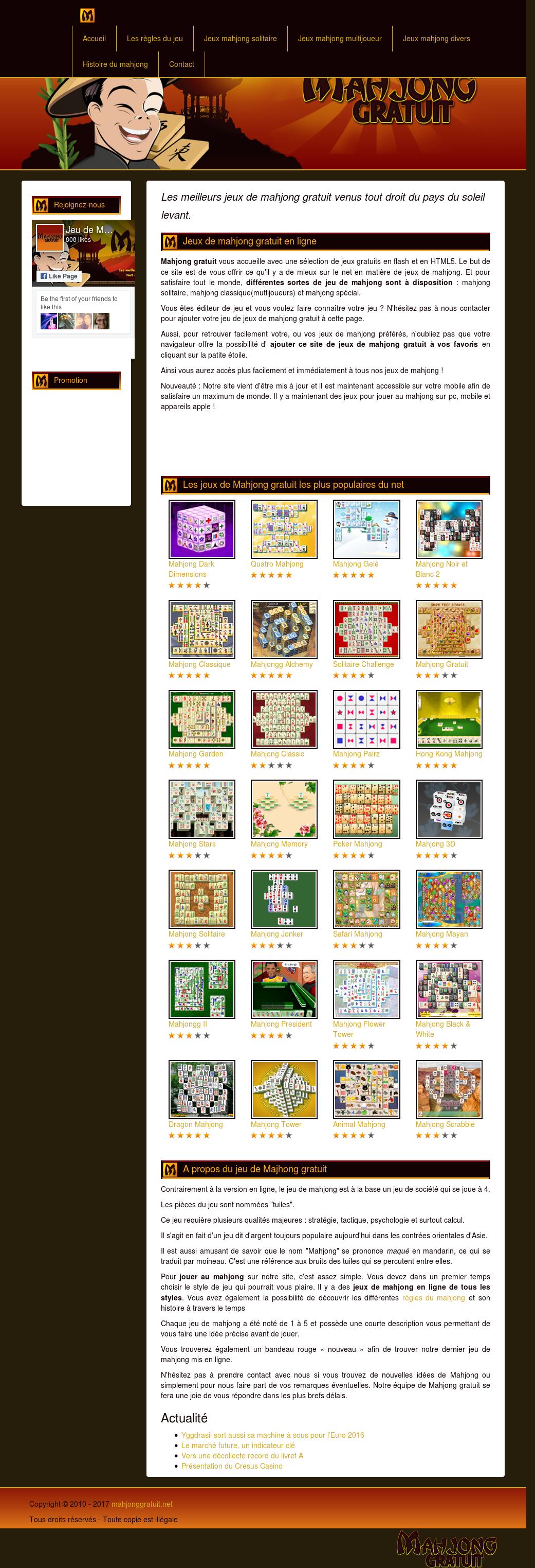 Jeu De Mahjong Gratuit Competitors Revenue And Employees