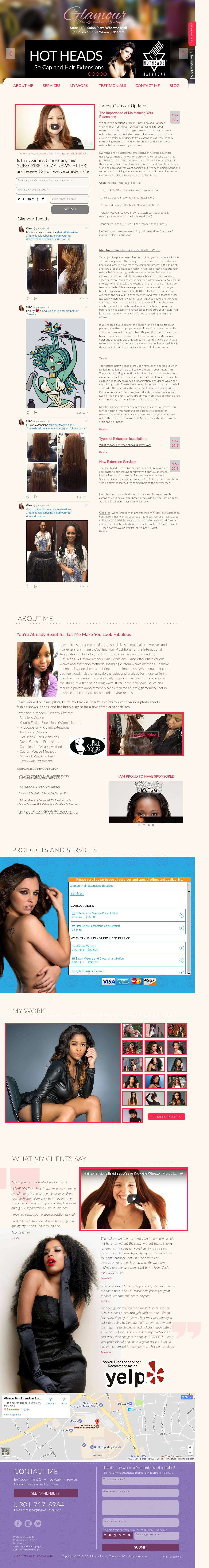 Glamour Hair Extensions Boutique Competitors Revenue And Employees