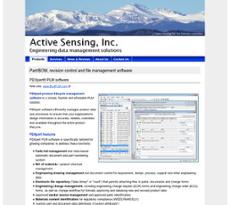 Active Sensing website history