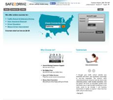 Safe2Drive website history