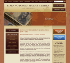 Starn O'Toole Marcus & Fisher website history