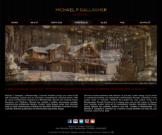 Michael F. Gallagher website history