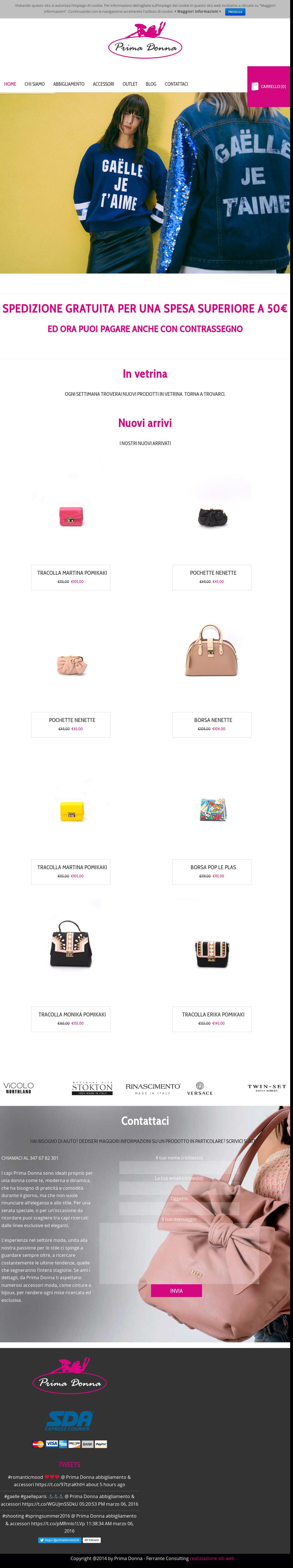 Raccogliere shop numerosi in varietà Prima Donna Abbigliamento & Accessori Competitors, Revenue ...