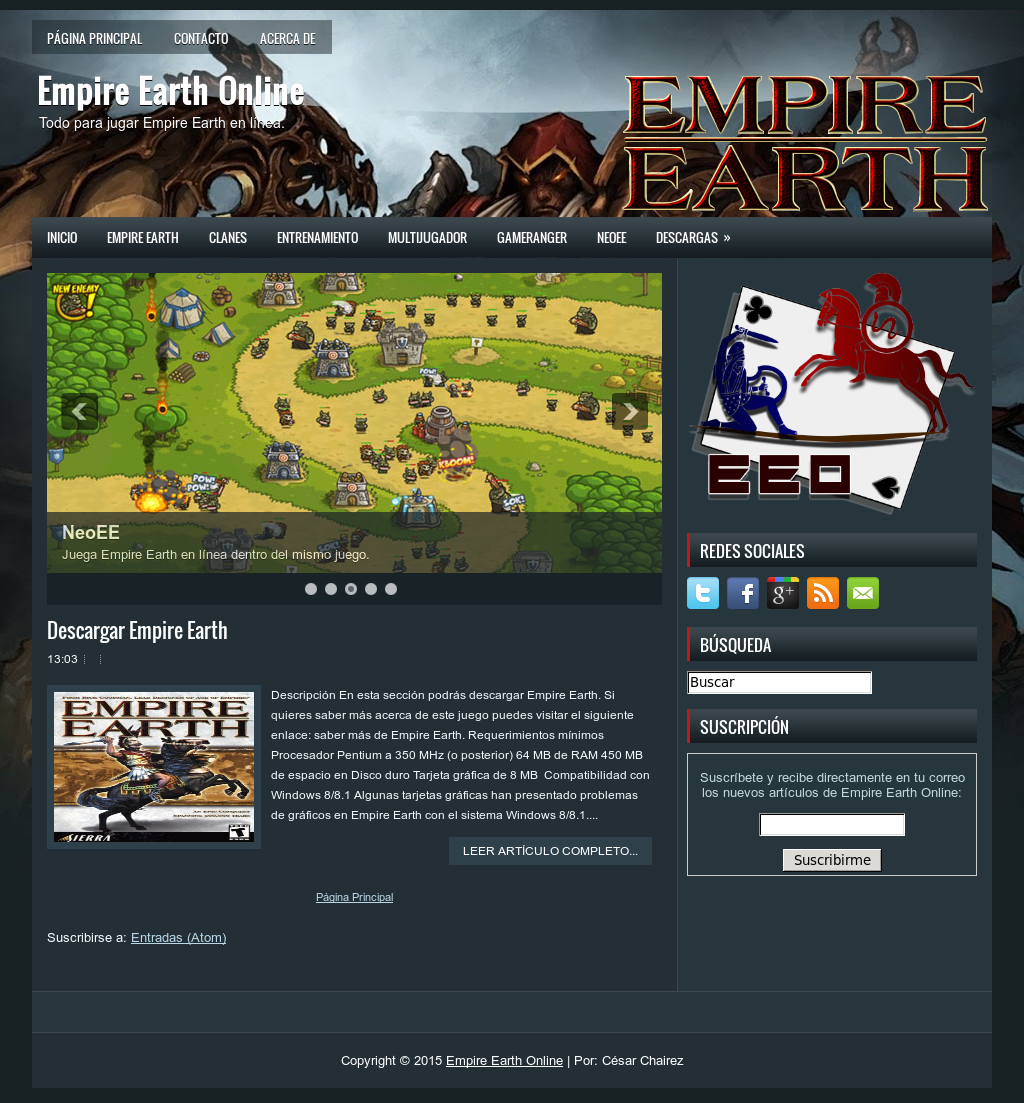 empire earth windows 8