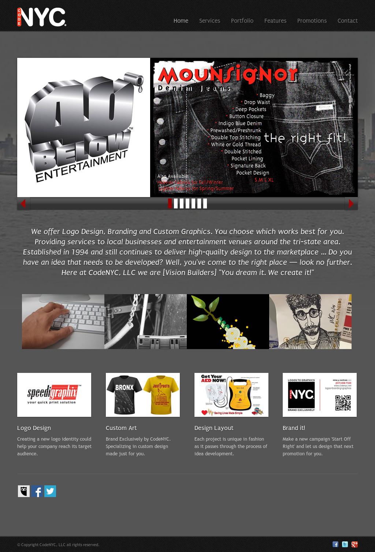 Creative Portfolio Template  Codenyc Competitors, Revenue