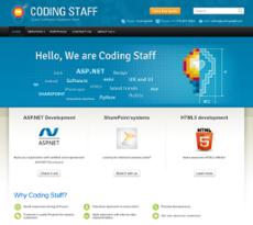 Coding Staff website history