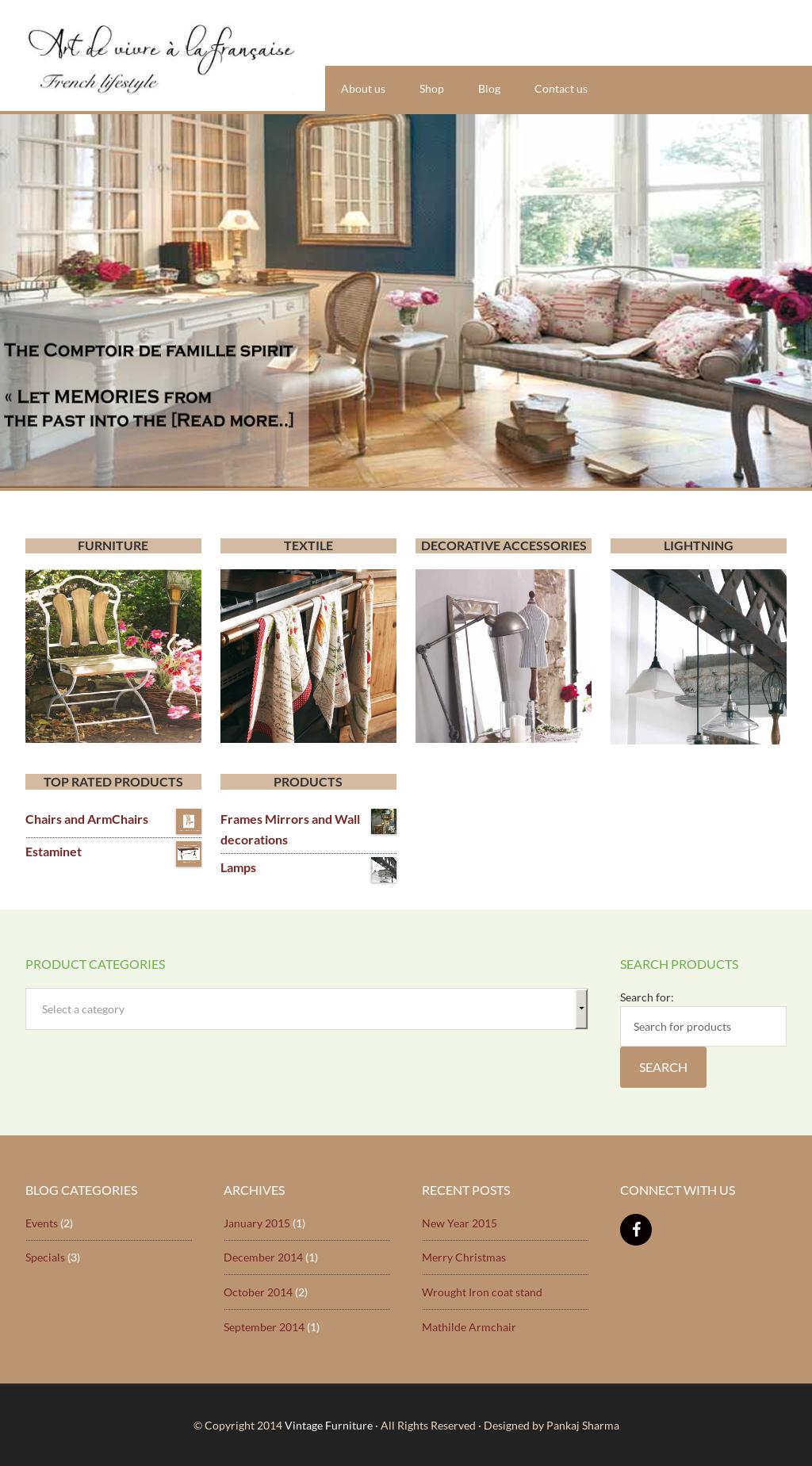 Beautiful Vintage Furniture Website History
