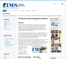IMS Specialty Services website history
