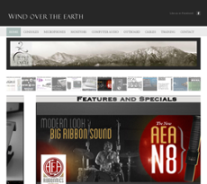 Wind Over the Earth website history