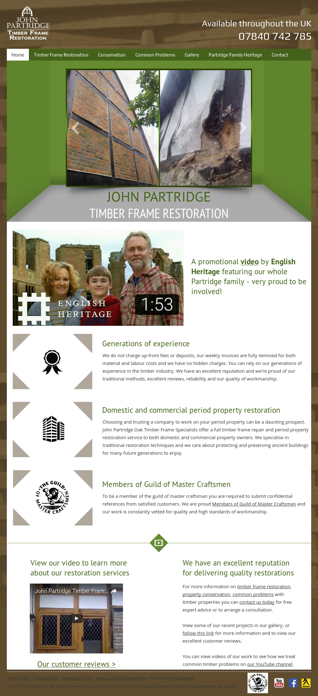 John Partridge - Timber Frame Restoration Competitors, Revenue and ...