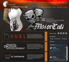PIXELED website history