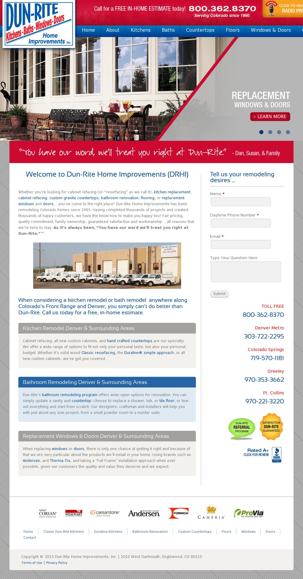 Dun Rite Competitors, Revenue And Employees   Owler Company Profile