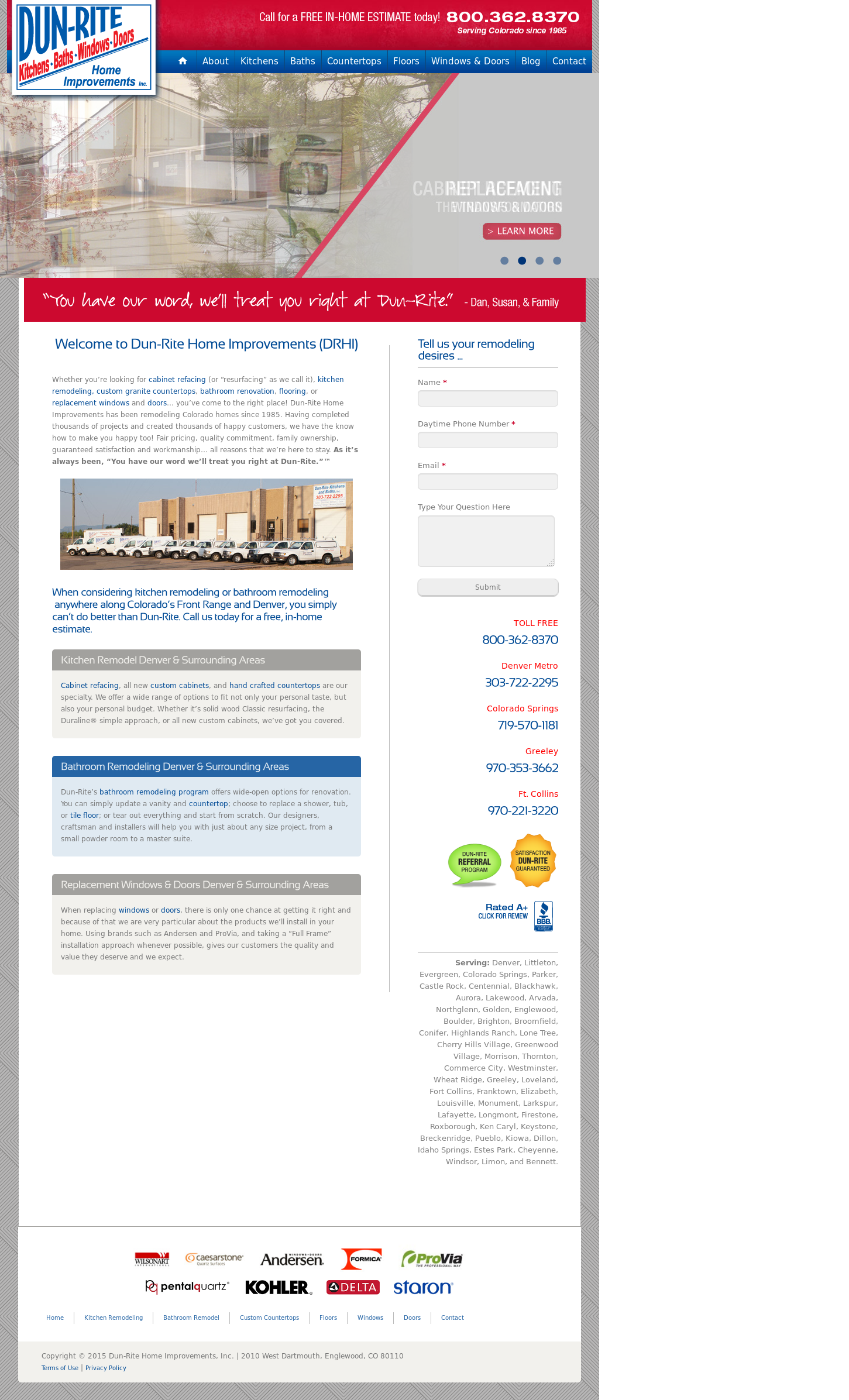 Dun-Rite Competitors, Revenue and Employees - Owler Company Profile