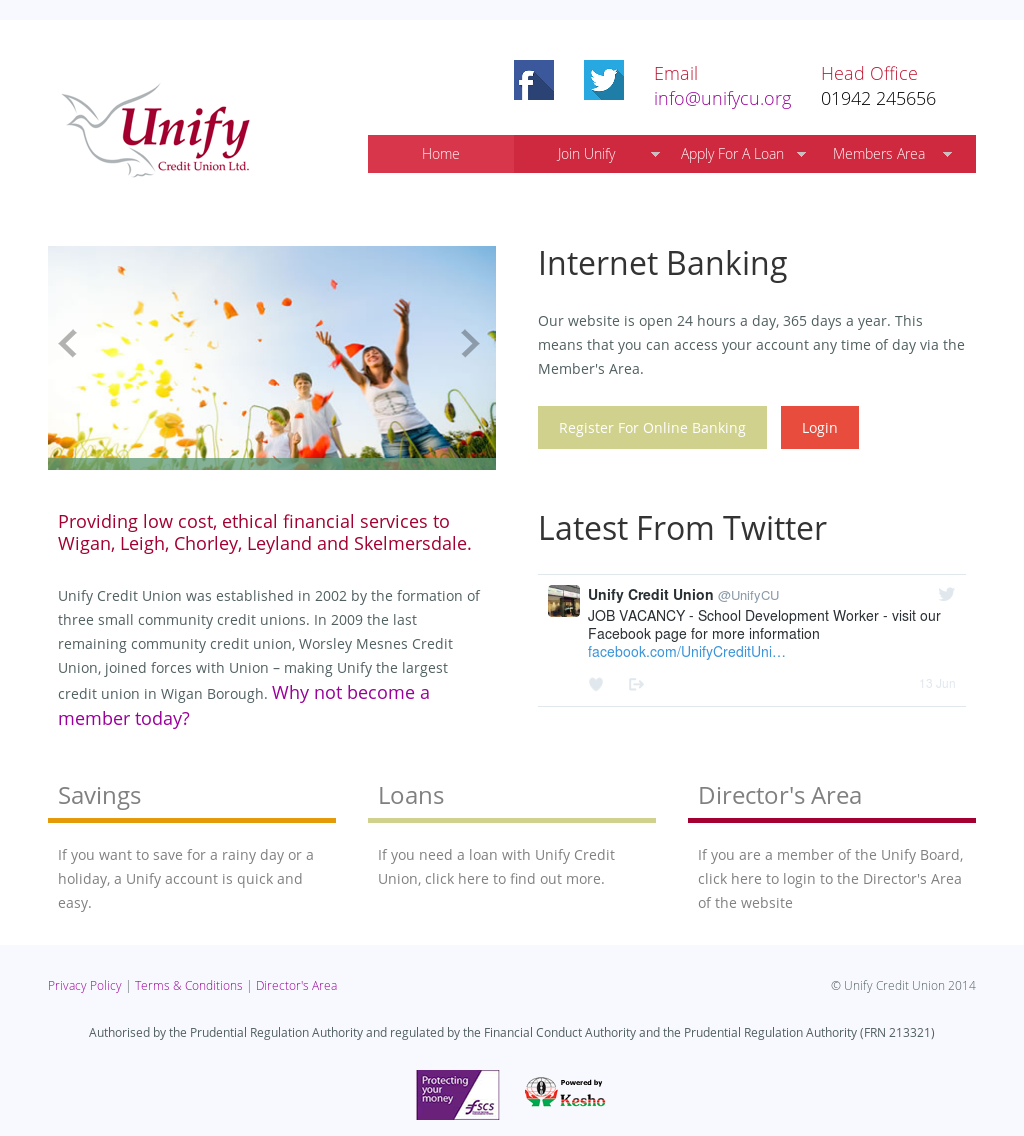 Unify Credit Union Competitors, Revenue and Employees