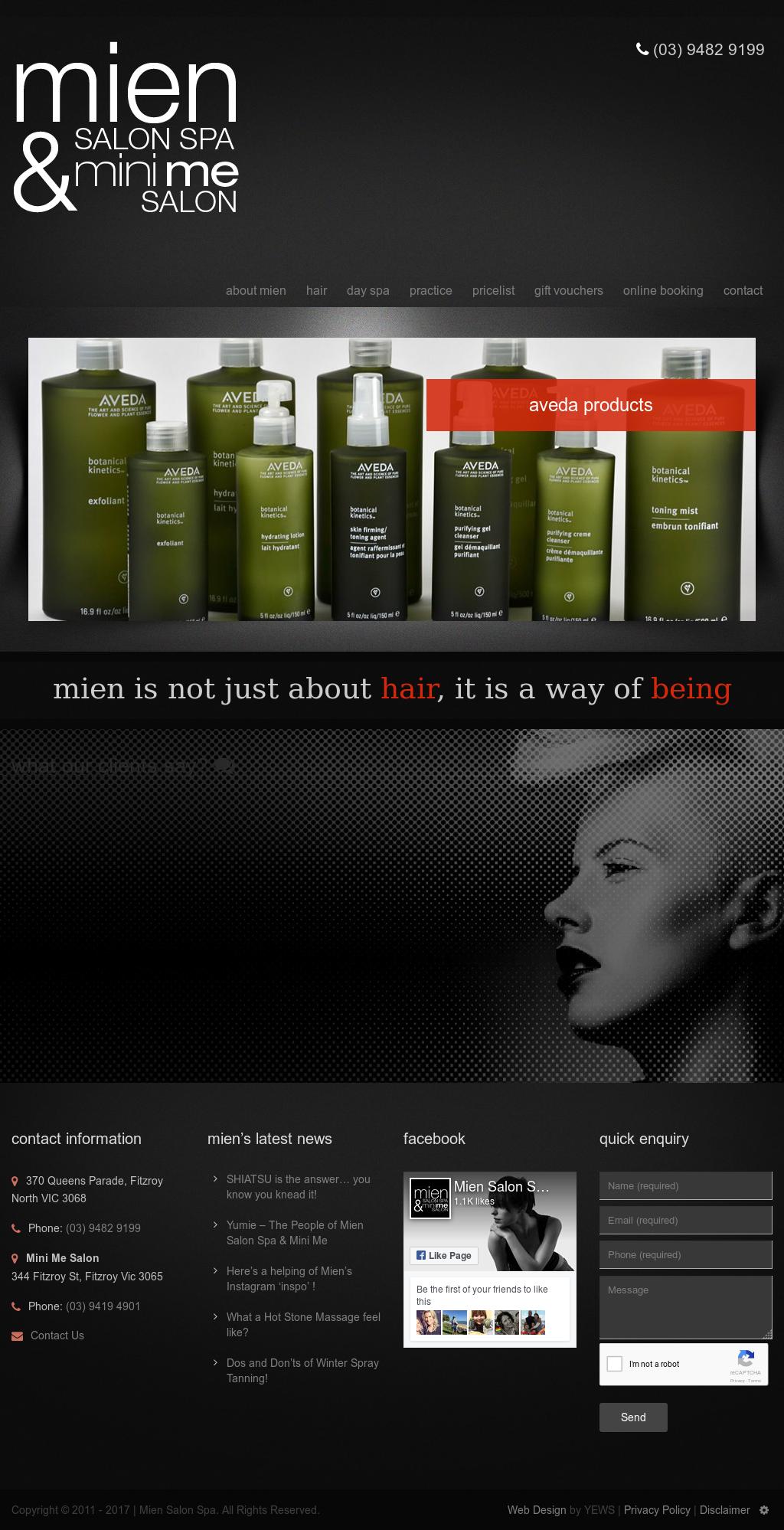 Mien Salon Day Spa Competitors Revenue And Employees Owler Company Profile