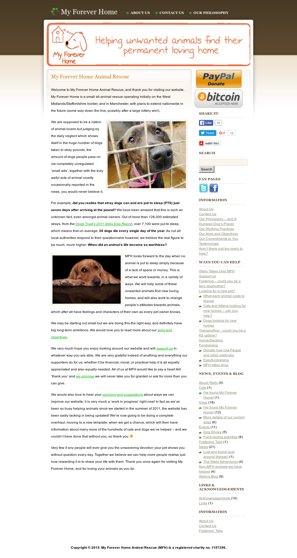 My Forever Home Animal Rescue (Mfh) Competitors, Revenue and