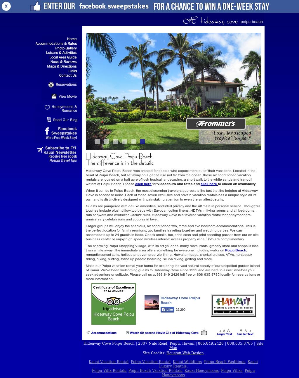 Hideaway Cove Poipu Beach Competitors, Revenue and Employees