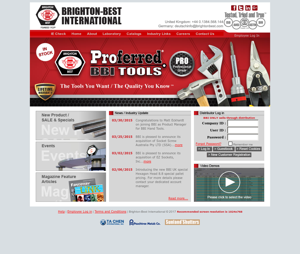 Brighton Best International Competitors, Revenue and