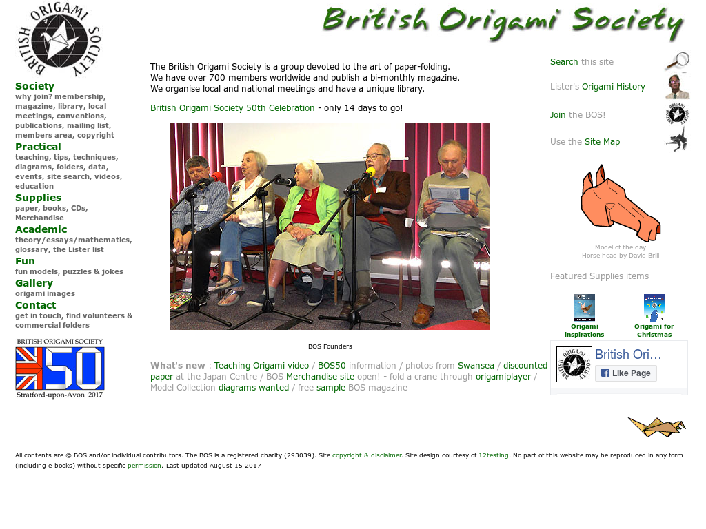 British Origami Society (BOS) @britishorigami - We've got two new ... | 768x1024