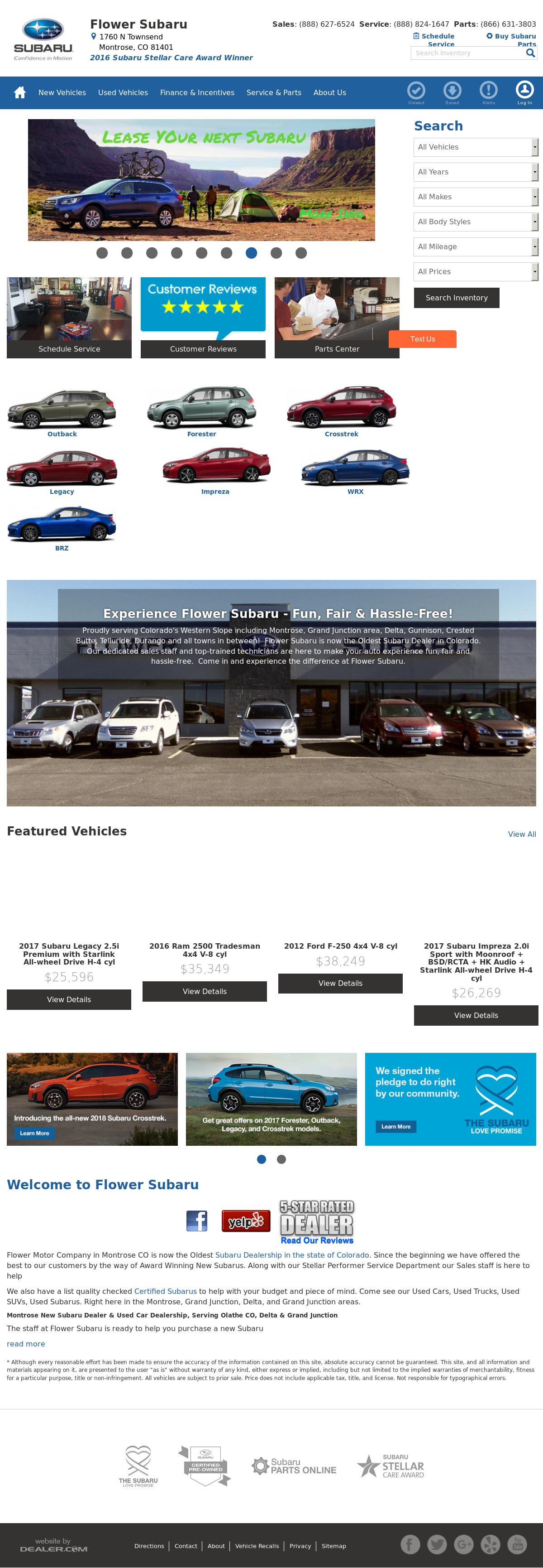flower subaru competitors revenue and employees owler company profile