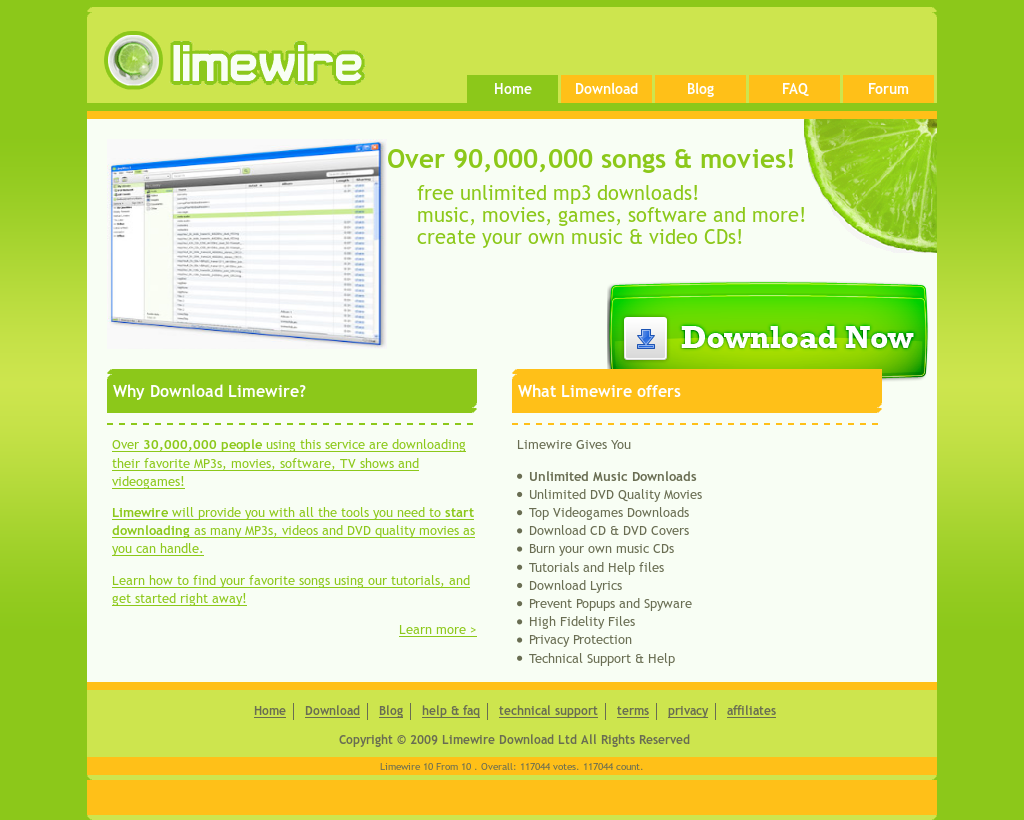 Limewire Download Competitors, Revenue and Employees - Owler