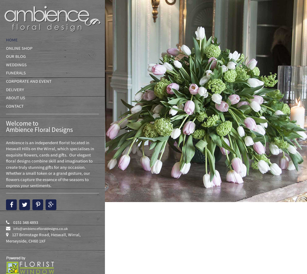 Ambience Floral Designs Competitors Revenue And Employees Owler