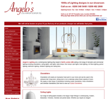 Angelou0027s Lighting website history  sc 1 st  Owler & Angelou0027s Lighting Competitors Revenue and Employees - Owler Company ...