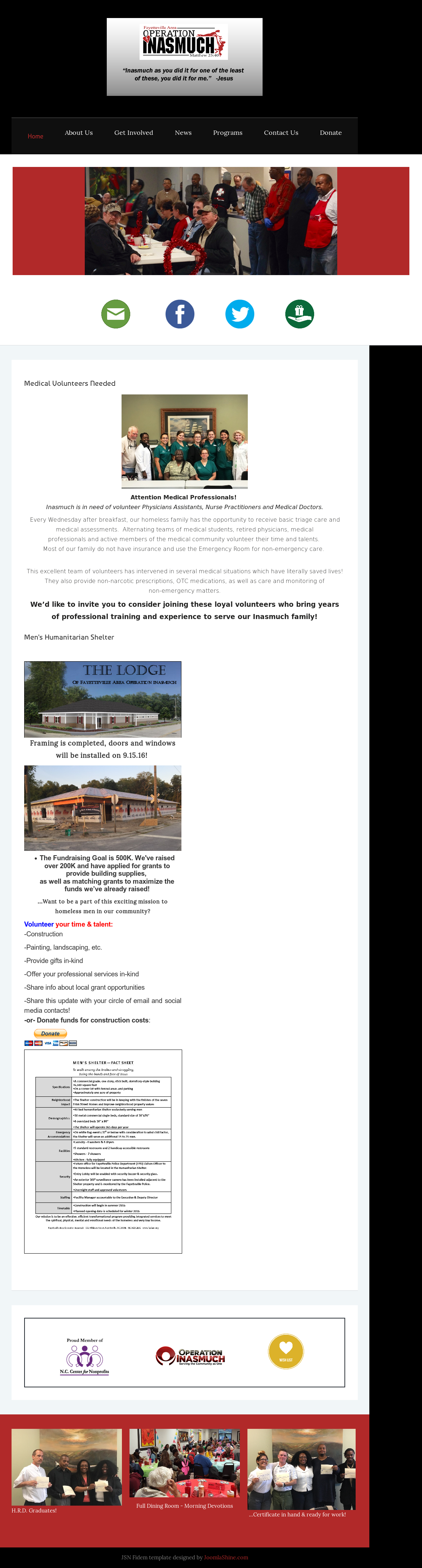 Fayetteville Area Operation Inasmuch Competitors, Revenue and ...