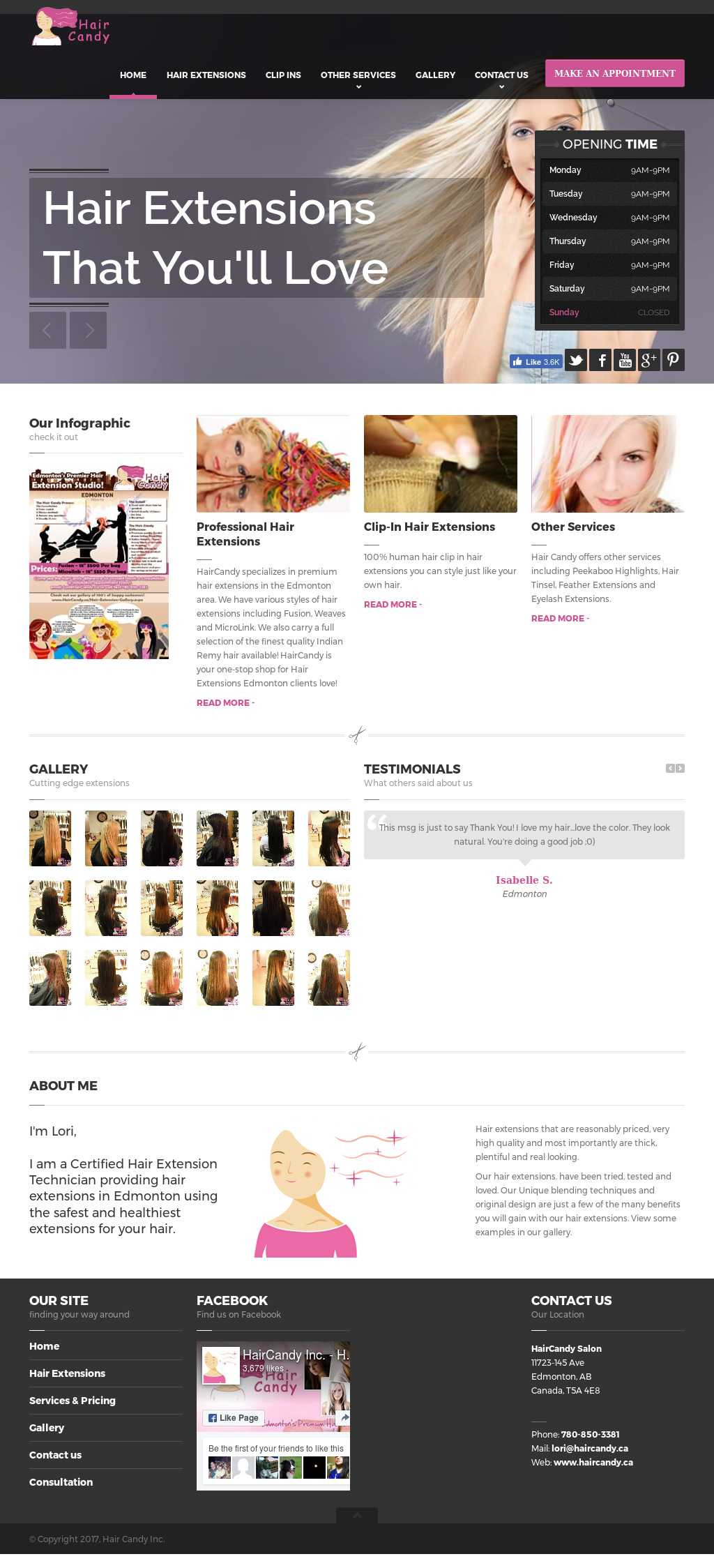 Haircandy Inc Hair Extensions Edmonton Competitors Revenue And