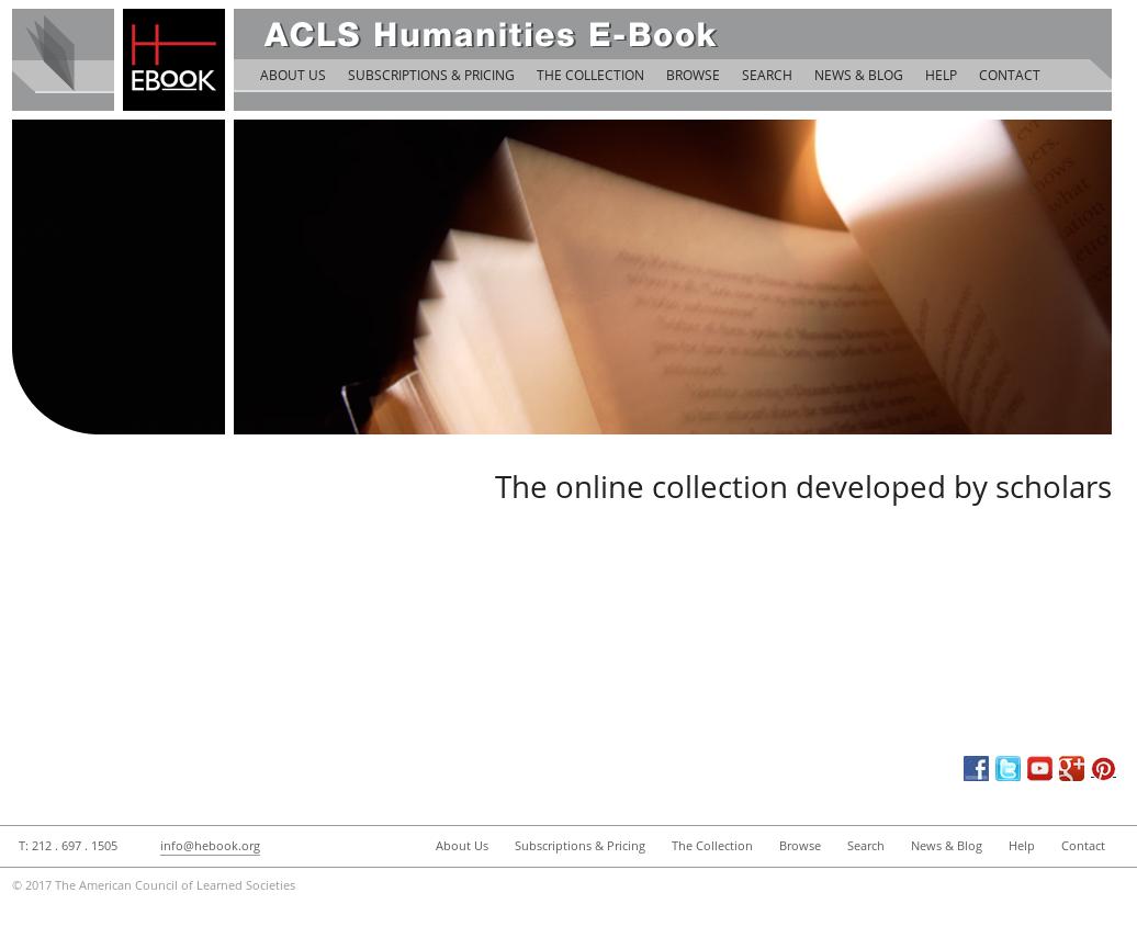 Acls Humanities Ebook