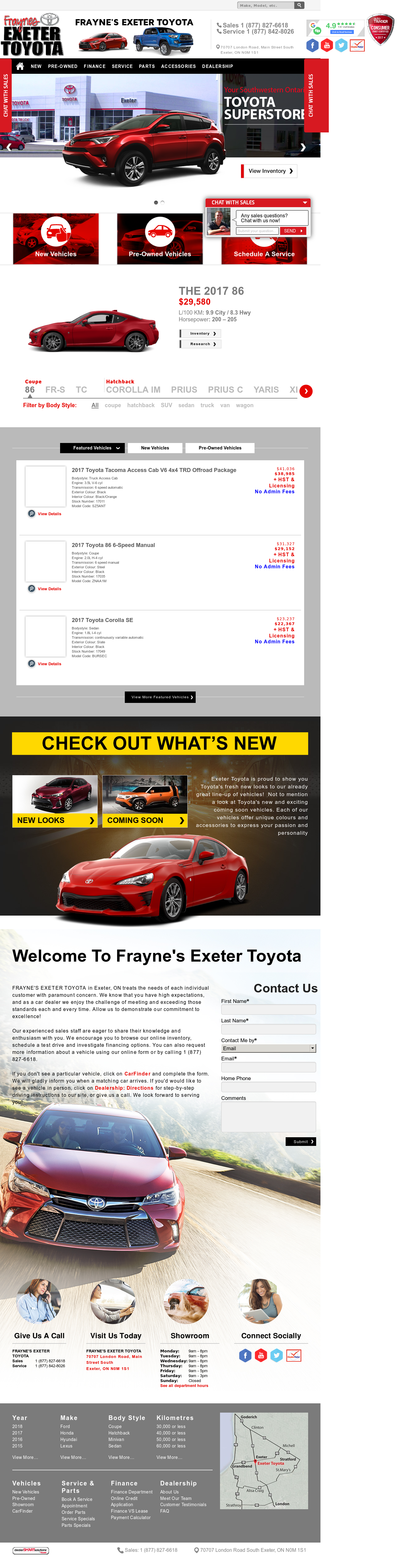 Exeter Toyota Competitors, Revenue and Employees - Owler Company Profile
