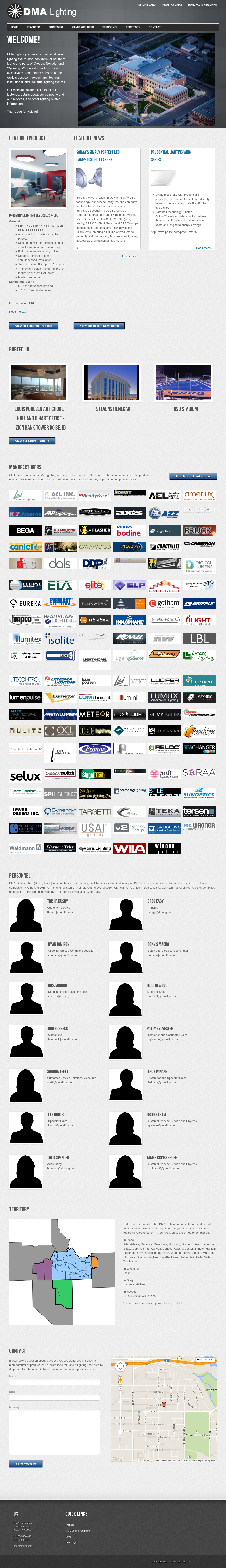 Dma Lighting website history & Dma Lighting Competitors Revenue and Employees - Owler Company Profile