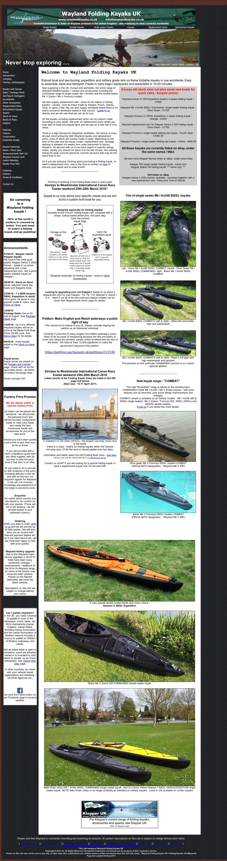 Wayland Folding Kayaks Uk Competitors, Revenue and Employees