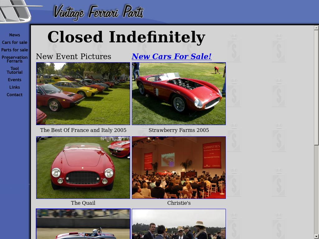 Vintage Ferrari Parts Competitors Revenue And Employees Owler