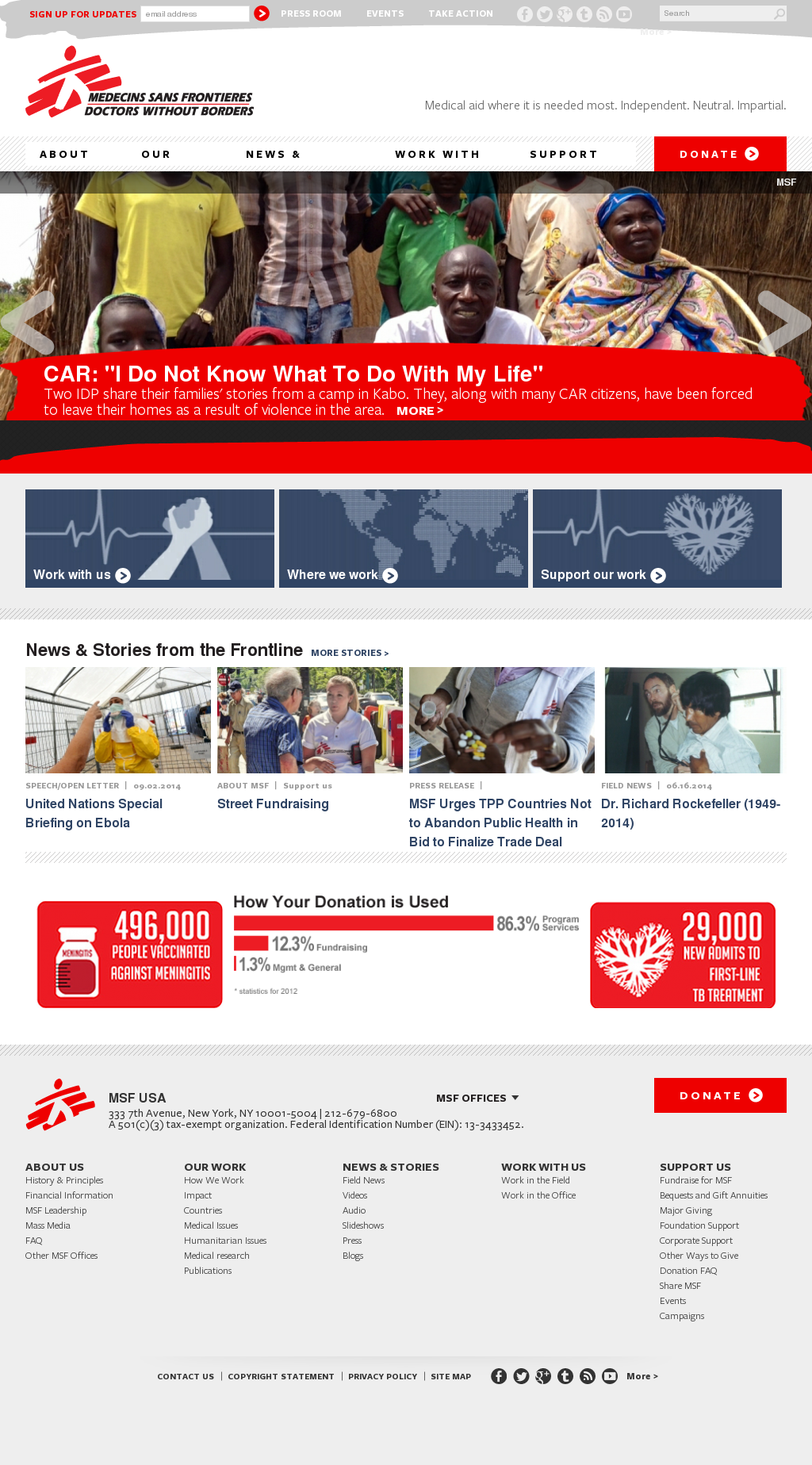 Doctors Without Borders Competitors Revenue And Employees