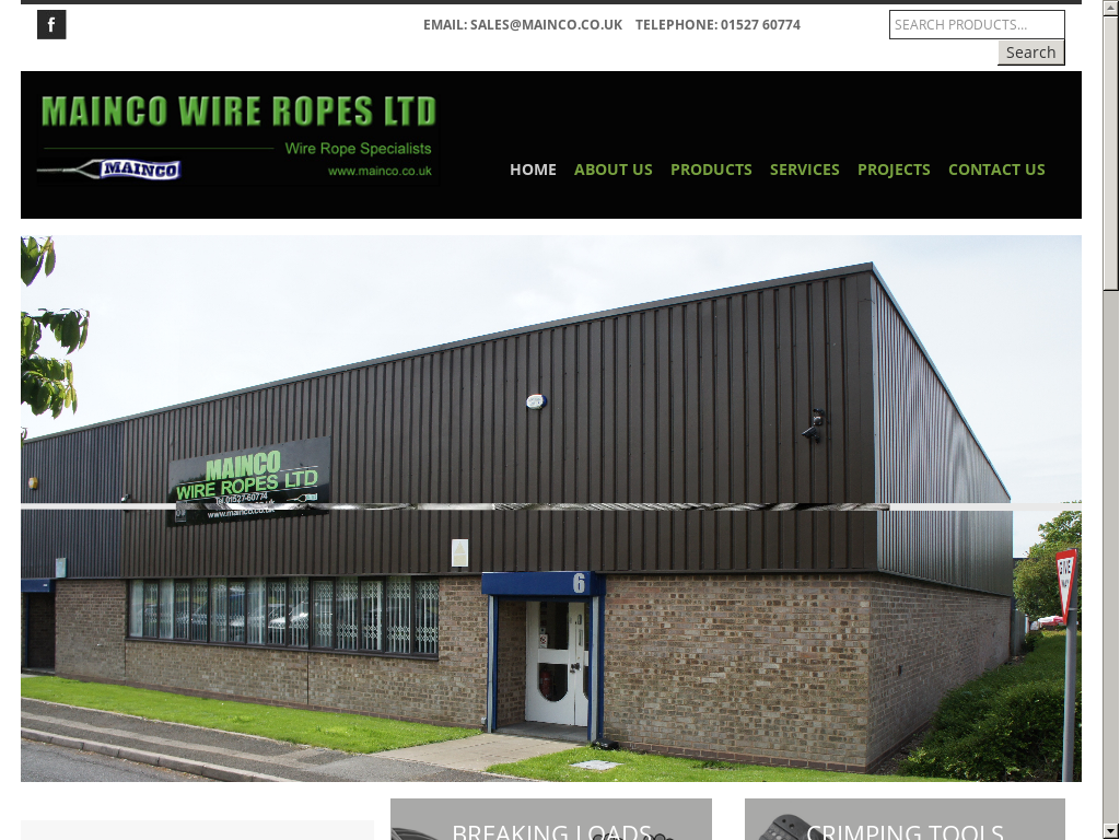 Mainco Wire Ropes Competitors Revenue And Employees Owler Company Uk Telephone Wiring Ropess Website Screenshot On Jul 2017