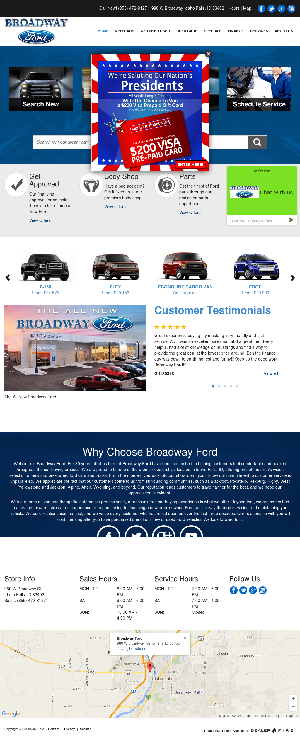 Broadway Ford Idaho Falls >> Broadway Ford Competitors Revenue And Employees Owler Company Profile