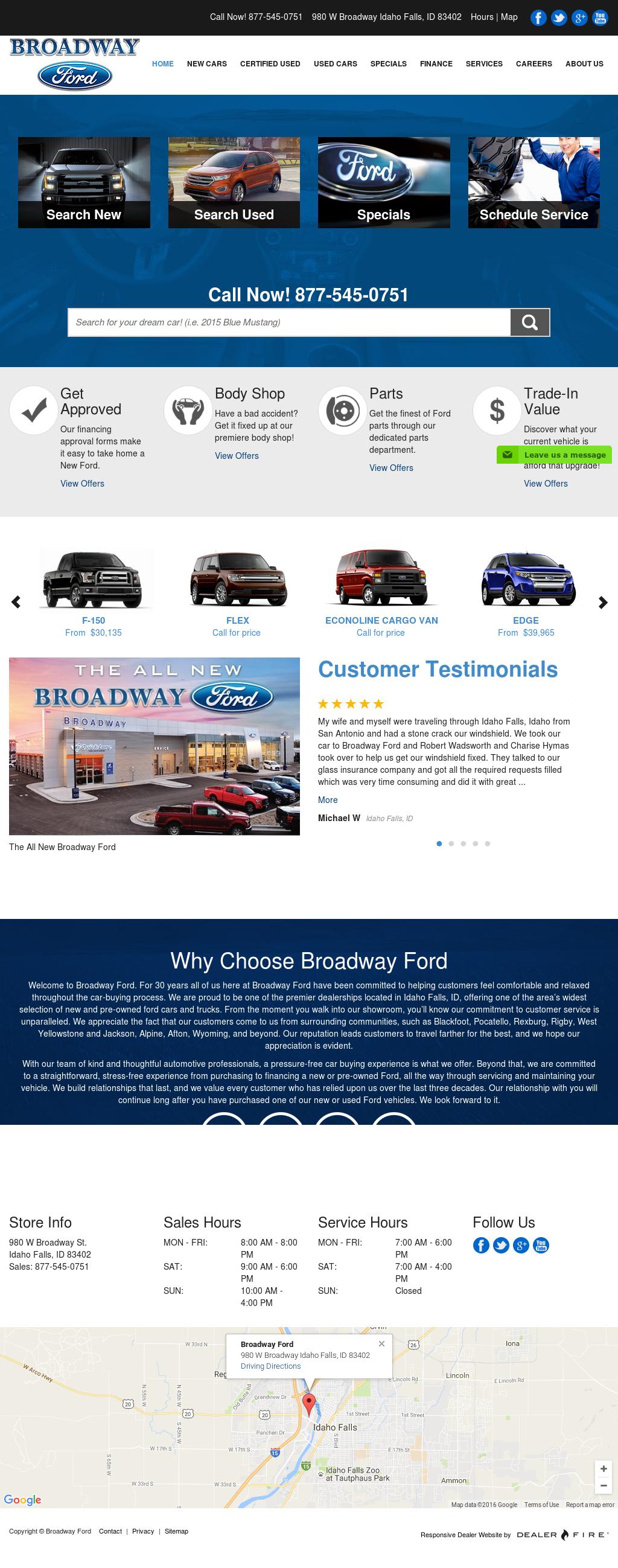Broadway Ford Idaho Falls >> Broadway Ford Idaho Falls Top Car Release 2020