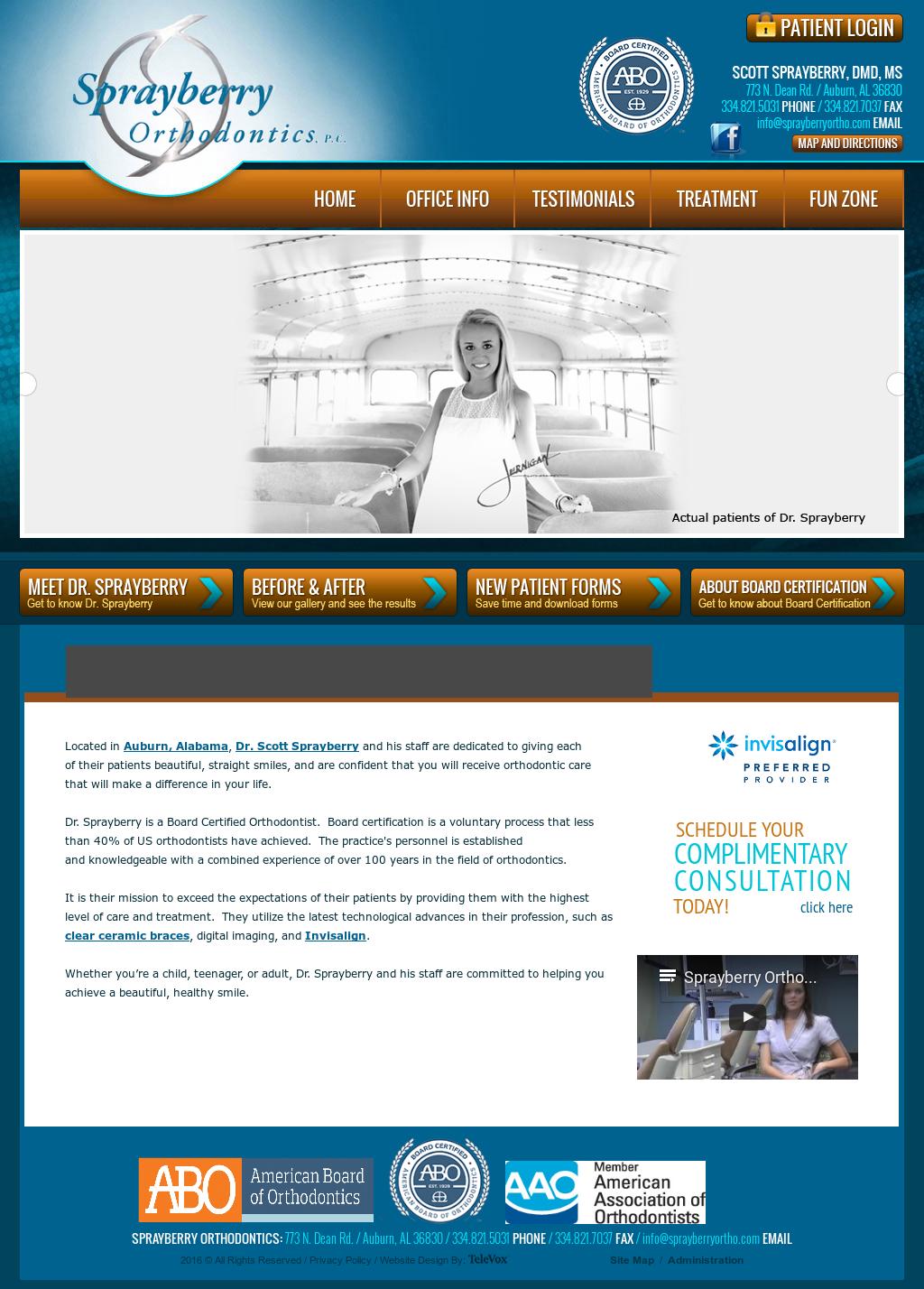 Sprayberryorthodontics Competitors Revenue And Employees Owler