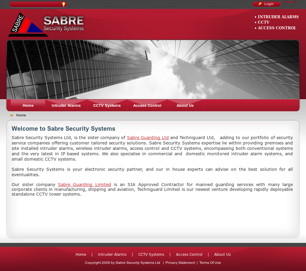 Sabre Security Systems Competitors, Revenue and Employees