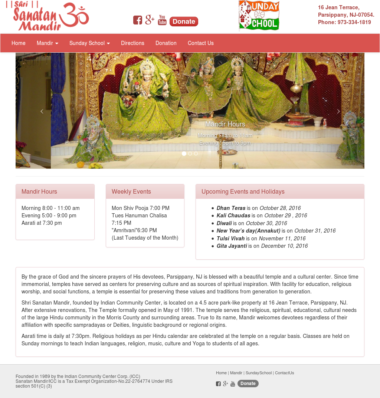 Sanatan Mandir School Parsippany Nj Competitors, Revenue and