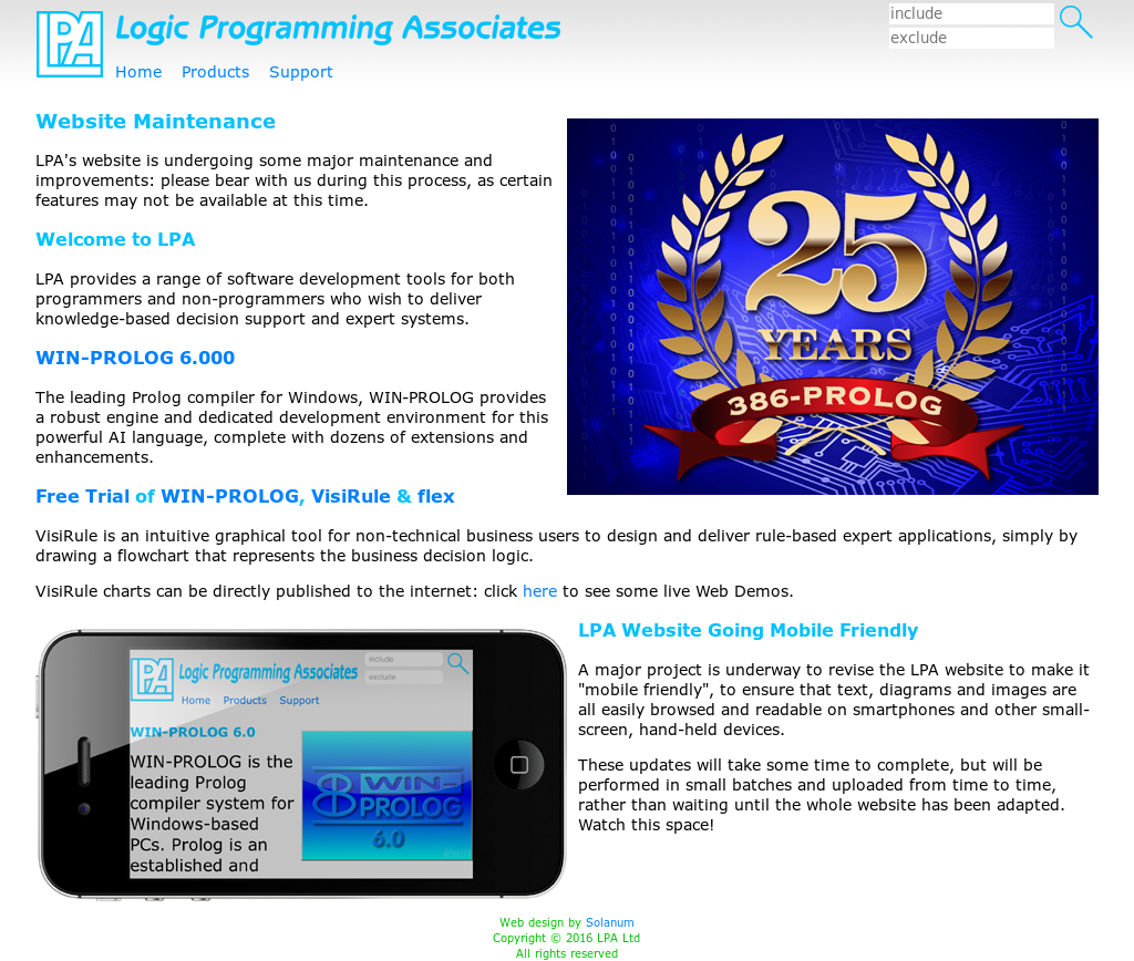 Logic Programming Associates Competitors, Revenue and Employees