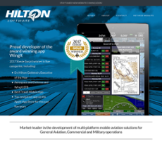 Hilton Software website history