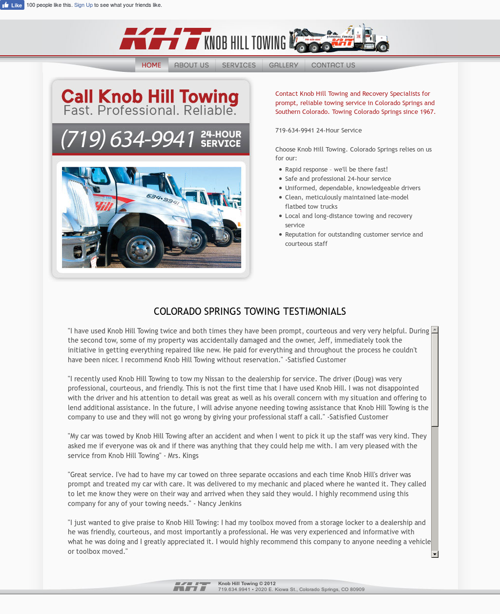 Knob Hill Towing Competitors, Revenue and Employees - Owler
