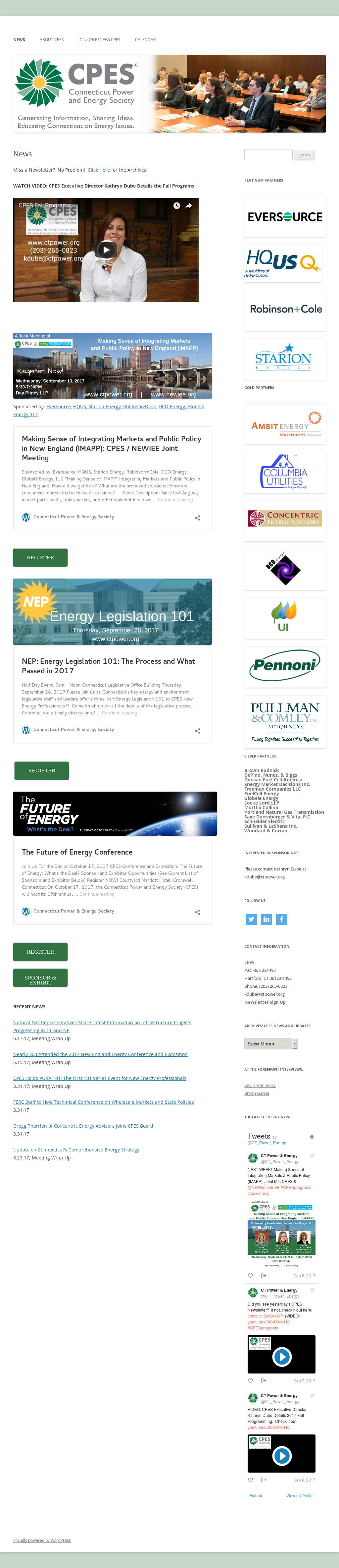 Connecticut Power & Energy Society Competitors, Revenue and