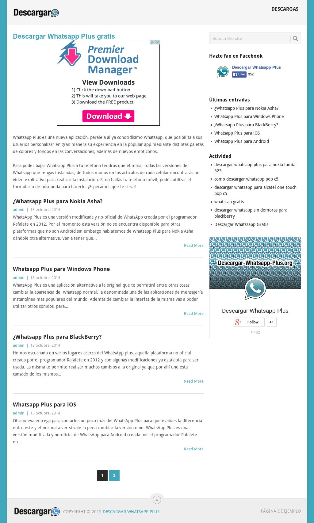whatsapp web plus descargar gratis